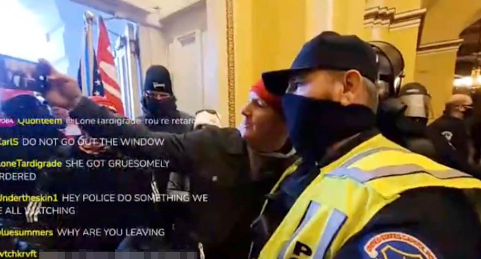"""US Capitol police officer dies from injuries suffered during pro-Trump riot"""""""