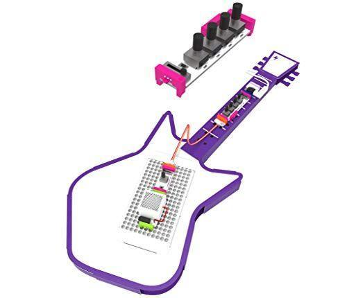 """<p><strong>littleBits</strong></p><p>amazon.com</p><p><strong>$43.10</strong></p><p><a href=""""https://www.amazon.com/dp/B07BFNLKY2?tag=syn-yahoo-20&ascsubtag=%5Bartid%7C10055.g.26670041%5Bsrc%7Cyahoo-us"""" rel=""""nofollow noopener"""" target=""""_blank"""" data-ylk=""""slk:Shop Now"""" class=""""link rapid-noclick-resp"""">Shop Now</a></p><p>Playing an electric guitar is fun. <em>Building</em> an electric guitar is even better. This littleBits kit comes with everything a kid needs to <strong>build an electric synth guitar</strong>, and an app guides them through building and learning to play it. <em>Ages 8+</em><br></p>"""