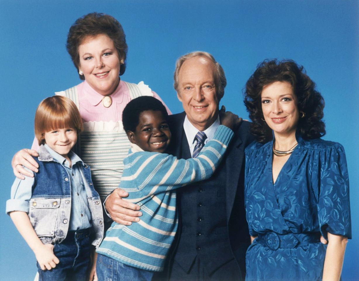 """<p><strong>Different Strokes</strong> follows the lives of African-American brothers Arnold (Gary Coleman) and Willis (Todd Bridges). After their mother dies, they are taken in by her employers, the Drummonds, a wealthy white couple and their teenaged daughter. </p> <p>Although a comedy, the show addresses heavy topics such as interracial families, race relations, the class system, drug use, sexual assault, and more. The series aired for nine seasons and spawned the spinoff <strong>The Facts of Life</strong>.</p> <p>Fun fact: <a class=""""sugar-inline-link ga-track"""" title=""""Latest photos and news for Janet Jackson"""" href=""""https://www.popsugar.com/Janet-Jackson"""" target=""""_blank"""" data-ga-category=""""Related"""" data-ga-label=""""https://www.popsugar.com/Janet-Jackson"""" data-ga-action=""""&lt;-related-&gt; Links"""">Janet Jackson</a> stars as a recurring character throughout three seasons!</p> <p><strong>Where to watch:</strong> <a href=""""https://www.popsugar.com/buy?url=https%3A%2F%2Fwww.amazon.com%2FEp-1-Movin-In%2Fdp%2FB017LQ8H9G%2Fref%3Dsr_1_1%3Fs%3Dinstant-video%26ie%3DUTF8%26qid%3D1487570259%26sr%3D1-1%26keywords%3Ddiff%2527rent%2Bstrokes&p_name=Amazon&retailer=amazon.com&evar1=buzz%3Aus&evar9=43179419&evar98=https%3A%2F%2Fwww.popsugar.com%2Fentertainment%2Fphoto-gallery%2F43179419%2Fimage%2F43179426%2FDiffrent-Strokes&list1=tv%2Cblack%20history%20month&prop13=api&pdata=1"""" rel=""""nofollow"""" data-shoppable-link=""""1"""" target=""""_blank"""" class=""""ga-track"""" data-ga-category=""""Related"""" data-ga-label=""""https://www.amazon.com/Ep-1-Movin-In/dp/B017LQ8H9G/ref=sr_1_1?s=instant-video&amp;ie=UTF8&amp;qid=1487570259&amp;sr=1-1&amp;keywords=diff%27rent+strokes"""" data-ga-action=""""In-Line Links"""">Amazon</a>, <a href=""""https://itunes.apple.com/gb/tv-season/diffrent-strokes-season-1/id280952141"""" target=""""_blank"""" class=""""ga-track"""" data-ga-category=""""Related"""" data-ga-label=""""https://itunes.apple.com/gb/tv-season/diffrent-strokes-season-1/id280952141"""" data-ga-action=""""In-Line Links"""">iTunes</a></p>"""