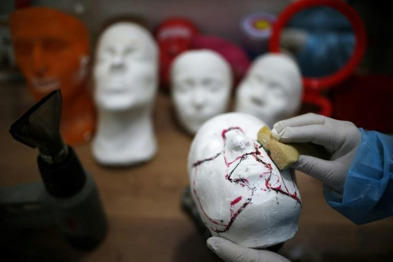 The masks were developed by medical charity Doctors Without Borders