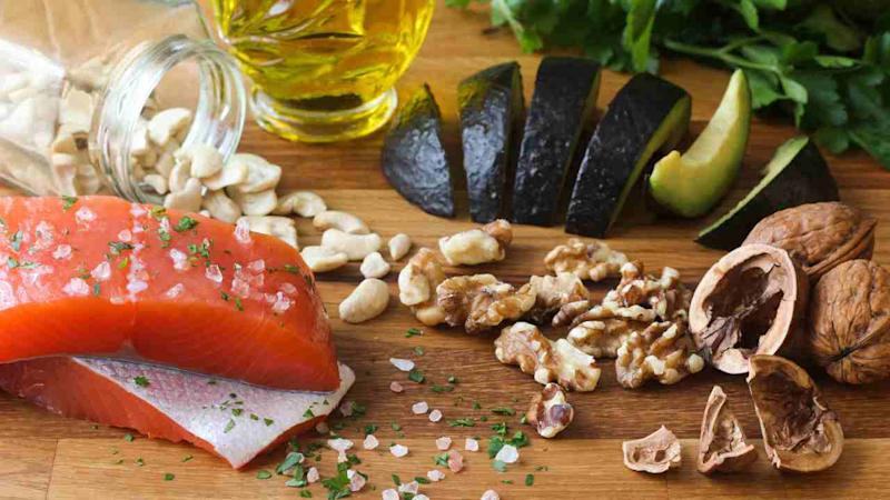 The Mediterranean diet includes a low to moderate amount of seafood and poultry, but little to no red meat, added sugar, refined grains or starchy vegetables, and only a small amount of dairy.