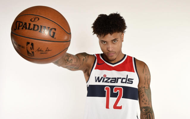 Kelly Oubre believes his Wizards are being disrespected, just like everyone else in Washington. (AP)