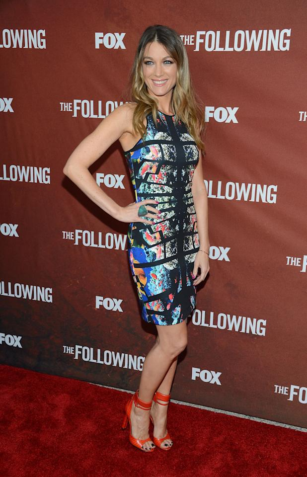 "NORTH HOLLYWOOD, CA - APRIL 29:  Actress Natalie Zea attends the screening of Fox's ""The Following"" at Leonard H. Goldenson Theatre on April 29, 2013 in North Hollywood, California.  (Photo by Jason Kempin/Getty Images)"