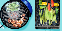 "<p>Charcoal grills allow for great control over the cooking process so you can make <a href=""https://www.goodhousekeeping.com/food-recipes/g413/great-grilling-recipes/"" rel=""nofollow noopener"" target=""_blank"" data-ylk=""slk:drool-worthy recipes"" class=""link rapid-noclick-resp"">drool-worthy recipes</a> the way <em>you</em> like every time. Use as many coals as you'd like to achieve the perfect temperature and place them wherever you want in the grill to create different cooking zones; cook directly over the coals for <a href=""https://www.goodhousekeeping.com/food-recipes/party-ideas/a28507963/charred-salsa-recipe/"" rel=""nofollow noopener"" target=""_blank"" data-ylk=""slk:a charred exterior,"" class=""link rapid-noclick-resp"">a charred exterior,</a> or move them to a less hot spot for more gentle cooking and a smoky taste. Keep an eye on the coals, however, because they may need to be replenished before your cooking is done. On the other hand, don't forget to put them out completely before storing your grill away. <br><br>In the <a href=""https://www.goodhousekeeping.com/institute/about-the-institute/a19748212/good-housekeeping-institute-product-reviews/"" rel=""nofollow noopener"" target=""_blank"" data-ylk=""slk:Good Housekeeping Institute"" class=""link rapid-noclick-resp"">Good Housekeeping Institute</a>, we've tested dozens of <a href=""https://www.goodhousekeeping.com/appliances/outdoor-grill-reviews/g2320/best-outdoor-grills-0611/"" rel=""nofollow noopener"" target=""_blank"" data-ylk=""slk:top-rated grills"" class=""link rapid-noclick-resp"">top-rated grills</a> over the years, including <a href=""https://www.goodhousekeeping.com/appliances/outdoor-grill-reviews/g26870787/best-gas-grills-reviews/"" rel=""nofollow noopener"" target=""_blank"" data-ylk=""slk:gas grills"" class=""link rapid-noclick-resp"">gas grills</a>, <a href=""https://www.goodhousekeeping.com/appliances/g27570839/best-indoor-grills/"" rel=""nofollow noopener"" target=""_blank"" data-ylk=""slk:electric and indoor grills"" class=""link rapid-noclick-resp"">electric and indoor grills</a>, <a href=""https://www.goodhousekeeping.com/appliances/outdoor-grill-reviews/a26251606/best-pellet-grills/"" rel=""nofollow noopener"" target=""_blank"" data-ylk=""slk:pellet grills and smokers"" class=""link rapid-noclick-resp"">pellet grills and smokers</a>, and of course, charcoal. When we rounded up our charcoal grill recommendations, we considered different sizes and shapes to suit a variety of needs. We also included charcoal grills with unique features that stood apart from the pack. Our recommended picks are sturdy with unsung safety features, like locking wheels and oversized handles, made of solid material to better control temperature, and easy to clean up when done. Here are <strong>the best charcoal grills you can buy in 2021: </strong><br></p><ul><li><strong>Best <strong>Overall</strong> Charcoal Grill:</strong> <a href=""https://www.amazon.com/dp/B00MKB5TXA?tag=syn-yahoo-20&ascsubtag=%5Bartid%7C10055.g.31990980%5Bsrc%7Cyahoo-us"" rel=""nofollow noopener"" target=""_blank"" data-ylk=""slk:Weber Original Kettle Premium Charcoal Grill"" class=""link rapid-noclick-resp"">Weber Original Kettle Premium Charcoal Grill</a></li><li><strong>Best Value Charcoal Grill:</strong> <a href=""https://go.redirectingat.com?id=74968X1596630&url=https%3A%2F%2Fwww.lowes.com%2Fpd%2FChar-Griller-Super-Pro-30-in-Black-Barrel-Charcoal-Grill%2F3033621&sref=https%3A%2F%2Fwww.goodhousekeeping.com%2Fappliances%2Foutdoor-grill-reviews%2Fg31990980%2Fbest-charcoal-grills%2F"" rel=""nofollow noopener"" target=""_blank"" data-ylk=""slk:Char-Griller Super Pro Black Barrel Charcoal Grill"" class=""link rapid-noclick-resp"">Char-Griller Super Pro Black Barrel Charcoal Grill</a></li><li><strong>Best Heavy Duty Charcoal Grill: </strong><a href=""https://go.redirectingat.com?id=74968X1596630&url=https%3A%2F%2Fwww.homedepot.com%2Fp%2FDyna-Glo-Dual-Zone-Premium-Charcoal-Grill-in-Stainless-Steel-and-Black-DGN576SNC-D%2F203944115&sref=https%3A%2F%2Fwww.goodhousekeeping.com%2Fappliances%2Foutdoor-grill-reviews%2Fg31990980%2Fbest-charcoal-grills%2F"" rel=""nofollow noopener"" target=""_blank"" data-ylk=""slk:Dyna-Glo Dual Zone Premium Charcoal Grill"" class=""link rapid-noclick-resp"">Dyna-Glo Dual Zone Premium Charcoal Grill</a></li><li><strong>Best Cart-Style Charcoal Grill: </strong><a href=""https://go.redirectingat.com?id=74968X1596630&url=https%3A%2F%2Fwww.homedepot.com%2Fp%2FNexgrill-Cart-Style-Charcoal-Grill-in-Black-with-Side-Shelf-810-0047%2F314154547&sref=https%3A%2F%2Fwww.goodhousekeeping.com%2Fappliances%2Foutdoor-grill-reviews%2Fg31990980%2Fbest-charcoal-grills%2F"" rel=""nofollow noopener"" target=""_blank"" data-ylk=""slk:Nexgrill Cart-Style Charcoal Grill"" class=""link rapid-noclick-resp"">Nexgrill Cart-Style Charcoal Grill</a></li><li><strong>Best Charcoal Grill and Smoker:</strong> <a href=""https://go.redirectingat.com?id=74968X1596630&url=https%3A%2F%2Fwww.homedepot.com%2Fp%2FMasterbuilt-Gravity-Series-560-Digital-Charcoal-Grill-Plus-Smoker-in-Black-MB20040220%2F310726723&sref=https%3A%2F%2Fwww.goodhousekeeping.com%2Fappliances%2Foutdoor-grill-reviews%2Fg31990980%2Fbest-charcoal-grills%2F"" rel=""nofollow noopener"" target=""_blank"" data-ylk=""slk:Masterbuilt Gravity Series 560 Digital Charcoal Grill + Smoker"" class=""link rapid-noclick-resp"">Masterbuilt Gravity Series 560 Digital Charcoal Grill + Smoker</a></li><li><strong>Best Large Capacity Charcoal Grill: </strong><a href=""https://go.redirectingat.com?id=74968X1596630&url=https%3A%2F%2Fwww.homedepot.com%2Fp%2FKitchenAid-Cart-Style-Charcoal-Grill-in-Black-with-Foldable-Side-Shelves-810-0021%2F204461341&sref=https%3A%2F%2Fwww.goodhousekeeping.com%2Fappliances%2Foutdoor-grill-reviews%2Fg31990980%2Fbest-charcoal-grills%2F"" rel=""nofollow noopener"" target=""_blank"" data-ylk=""slk:KitchenAid Cart-Style Charcoal Grill"" class=""link rapid-noclick-resp"">KitchenAid Cart-Style Charcoal Grill </a></li><li><strong>B</strong><strong>est Kamado Charcoal Grill:</strong> <a href=""https://go.redirectingat.com?id=74968X1596630&url=https%3A%2F%2Fwww.walmart.com%2Fip%2F126810886&sref=https%3A%2F%2Fwww.goodhousekeeping.com%2Fappliances%2Foutdoor-grill-reviews%2Fg31990980%2Fbest-charcoal-grills%2F"" rel=""nofollow noopener"" target=""_blank"" data-ylk=""slk:Kamado Joe Classic I"" class=""link rapid-noclick-resp"">Kamado Joe Classic I</a></li><li><strong>Best Tabletop Charcoal Grill:</strong> <a href=""https://go.redirectingat.com?id=74968X1596630&url=https%3A%2F%2Fwww.walmart.com%2Fip%2F780357614&sref=https%3A%2F%2Fwww.goodhousekeeping.com%2Fappliances%2Foutdoor-grill-reviews%2Fg31990980%2Fbest-charcoal-grills%2F"" rel=""nofollow noopener"" target=""_blank"" data-ylk=""slk:Oklahoma Joe's Rambler Tabletop Charcoal Grill"" class=""link rapid-noclick-resp"">Oklahoma Joe's Rambler Tabletop Charcoal Grill</a></li><li><strong>Best Portable Charcoal Grill:</strong> <a href=""https://go.redirectingat.com?id=74968X1596630&url=https%3A%2F%2Fwww.williams-sonoma.com%2Fproducts%2Feverdure-cube-charcoal-barbecue-by-heston-blumenthal&sref=https%3A%2F%2Fwww.goodhousekeeping.com%2Fappliances%2Foutdoor-grill-reviews%2Fg31990980%2Fbest-charcoal-grills%2F"" rel=""nofollow noopener"" target=""_blank"" data-ylk=""slk:Everdure by Heston Blumenthal The Cube Grill"" class=""link rapid-noclick-resp"">Everdure by Heston Blumenthal The Cube Grill</a></li><li><strong>Best Charcoal Grill for Camping:</strong> <a href=""https://www.amazon.com/dp/B0765NLD2F?tag=syn-yahoo-20&ascsubtag=%5Bartid%7C10055.g.31990980%5Bsrc%7Cyahoo-us"" rel=""nofollow noopener"" target=""_blank"" data-ylk=""slk:BioLite FirePit and Grill"" class=""link rapid-noclick-resp"">BioLite FirePit and Grill</a><br></li></ul>"