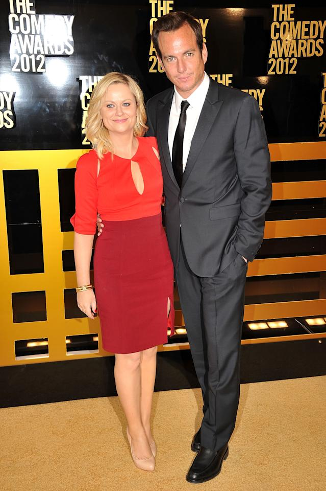 NEW YORK, NY - APRIL 28:  Actors Amy Poehler and Will Arnett attend The Comedy Awards 2012 at Hammerstein Ballroom on April 28, 2012 in New York City.  (Photo by Theo Wargo/Getty Images)