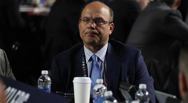 General manager Peter Chiarelli has avoided his usual blunders of late. (Dave Sandford/NHLI via Getty Images)