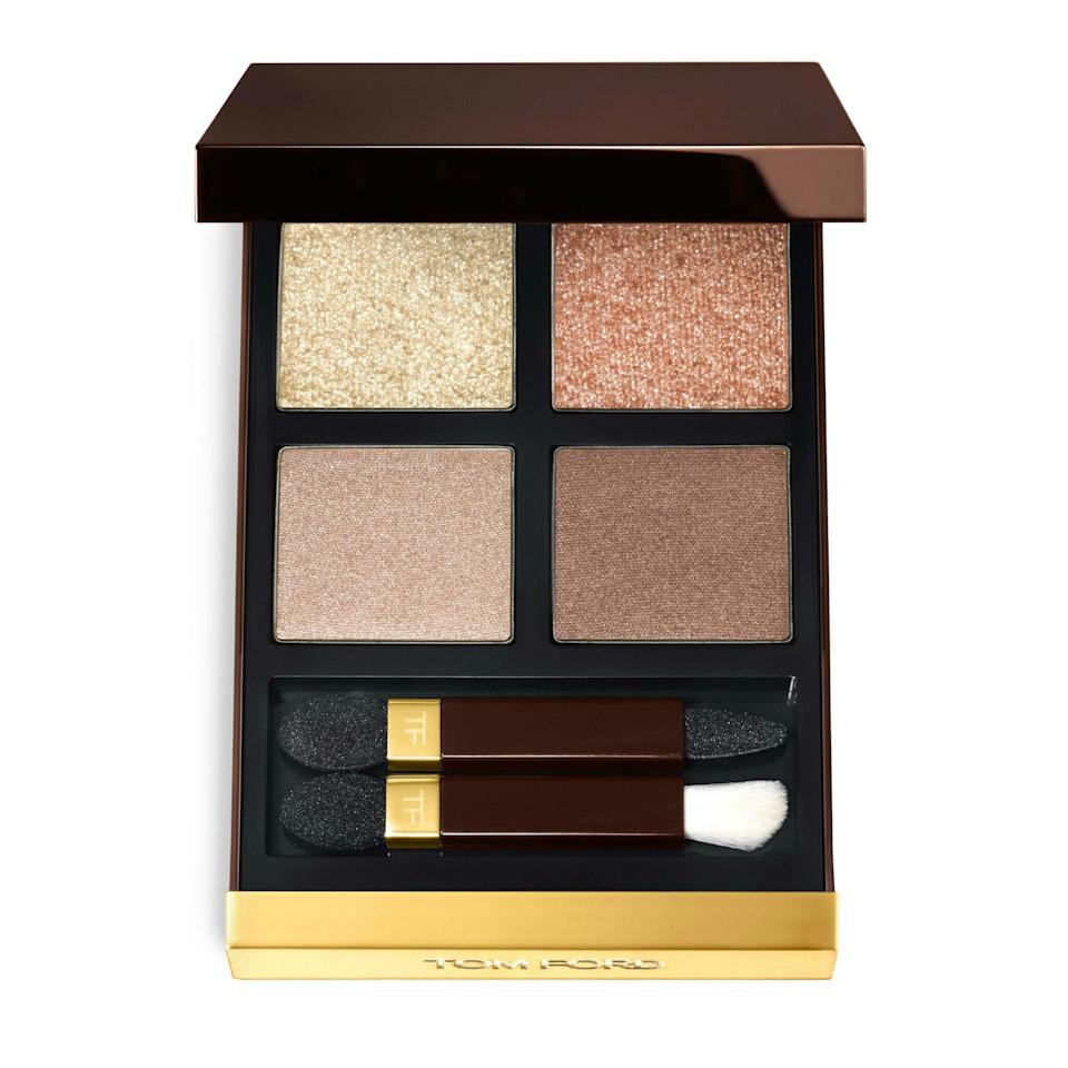 We know what you're thinking: What's a quad doing here? However, this isn't just <em>any</em> eye shadow quad. Tom Ford's plush shadows are as luxe as they come and they're available in the coolest color combinations. (Although there's a special place in our hearts for the original neutral one, pictured here.)