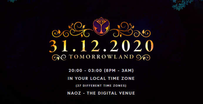 new year's eve countdown - tomorrowland