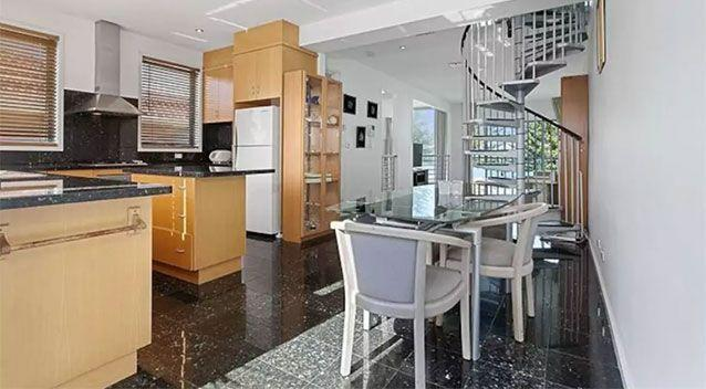 The home is worth more than $1m but one resident described it as a 'write off' now. Photo from before the damage. Source: Airbnb