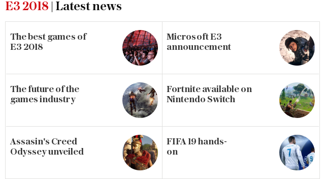 E3 2018 | Latest news