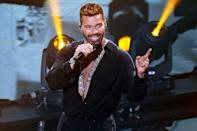 <p>Ricky Martin puts on a show at the 2020 Latin Grammy Awards on Monday in Miami.</p>