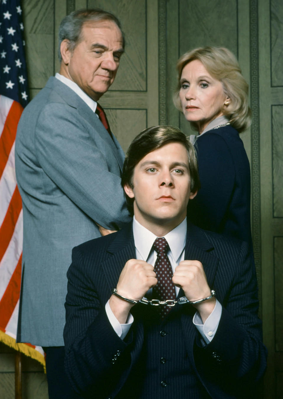<p><b>Aired:</b> November 18, 1984 on NBC<br><b>Stars:</b> Gary Cole and Karl Malden<br><br><b>Ripped from the headlines about:</b> Army officer Jeffrey MacDonald, who was convicted of murdering his wife and young daughters at Fort Bragg in 1970. MacDonald continues to maintain his innocence — he claims hippies broke into his house and committed the murders — but his father-in-law (Emmy winner Marden) believed MacDonald, who remains in jail in Maryland serving consecutive life sentences, was guilty. The movie was based on the Joe McGinniss book account of the murders, and MacDonald cooperated for the project. He later successfully sued McGinniss, claiming the author pretended to believe in his innocence to get access for his book, which painted MacDonald as guilty. Janet Malcolm's 1990 book <i>The Journalist and the Murderer</i> examines the relationship between writer and convicted killer, and concludes that McGinniss behaved unethically. <br><br><i>(Credit: Getty Images)</i> </p>