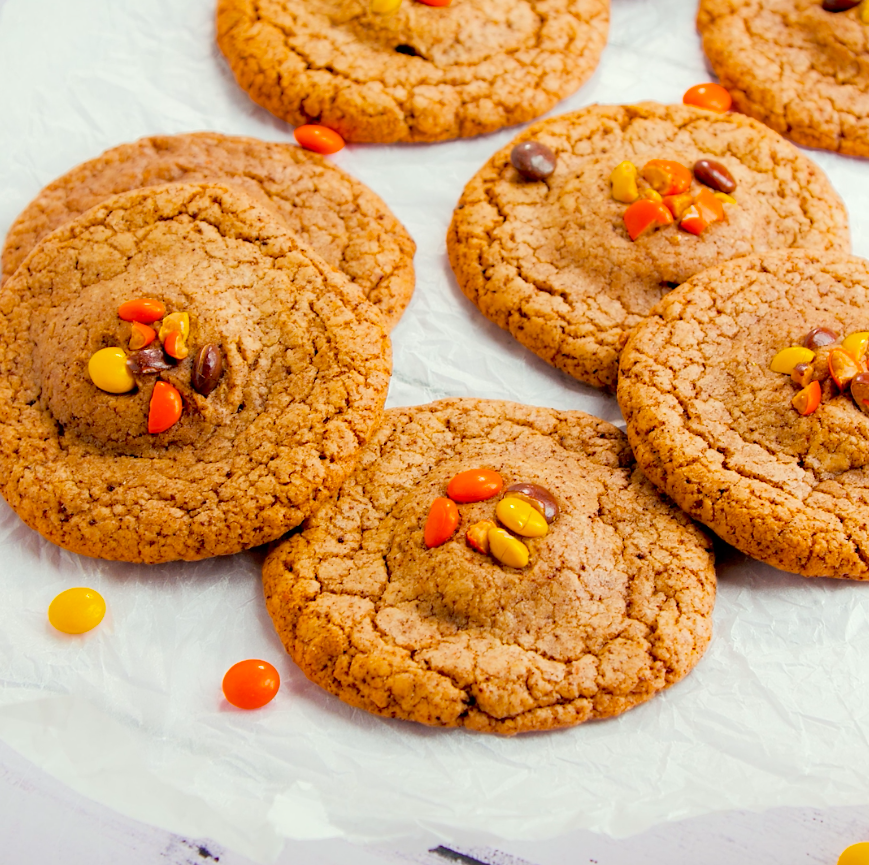 """<p>These soft-bake cookies have a hidden surprise centre and are perfect for peanut butter lovers.</p><p><strong>Recipe: <a href=""""https://www.goodhousekeeping.com/uk/food/recipes/a27955134/reeses-chocolate-cookies/"""" rel=""""nofollow noopener"""" target=""""_blank"""" data-ylk=""""slk:Reese's chocolate cookies"""" class=""""link rapid-noclick-resp"""">Reese's chocolate cookies</a></strong></p>"""