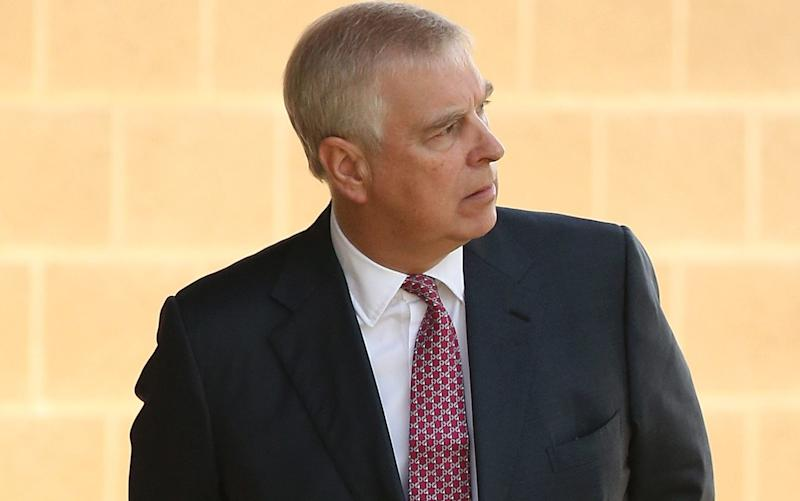 US prosecutors want to interview Prince Andrew over his friendship with Jeffrey Epstein and Ghislaine Maxwell - Getty Images