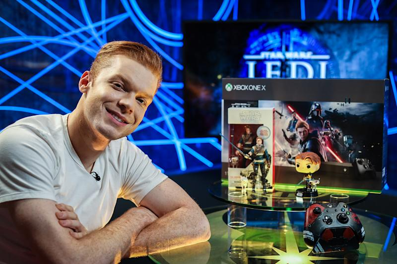 Cameron Monaghan plays the central character in the latest 'Star Wars' game, 'Fallen Order' (Photo: Lucasfilm/Disney)