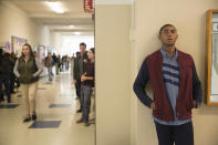 <p>Liberty High's student body president, Marcus Cole, was matched with Hannah on the Oh My Dollar Valentine's Day quiz, but it wasn't a match made in heaven. Their ill-fated diner date ended when he humiliated her in front of his friends and called her a tease after she refused his sexual advances. (Photo: Netflix) </p>