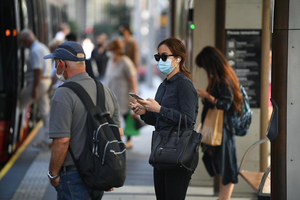 Masks are expected to remain mandatory in certain circumstances. Source: AAP
