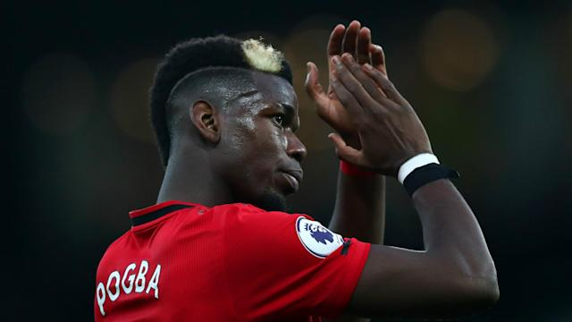 Mino Raiola placed Paul Pogba's Manchester United future in fresh doubt after attending Juventus' Coppa Italia fixture on Thursday.
