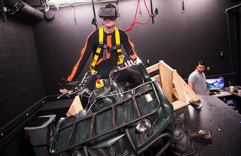 Oculus rift atv simulator is more than just a crazy video for High style motoring atv