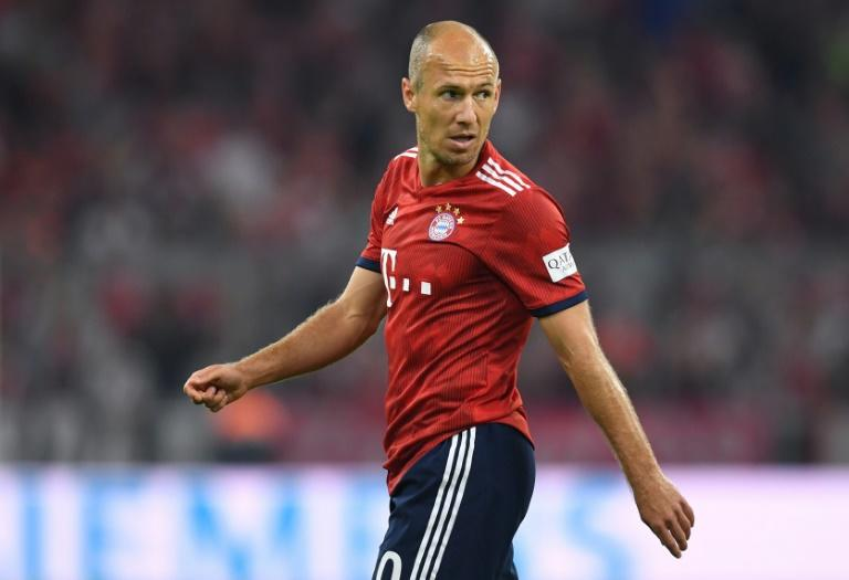 Arjen Robben, 34, scored off the bench in Bayern Munich's win over Hoffenheim on Friday as the Dutchman marked 10 seasons in the Bundesliga