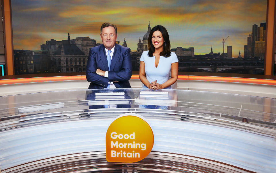 'Good Morning Britain' will be on air for 30 minutes more from January 2020 (Credit: ITV)