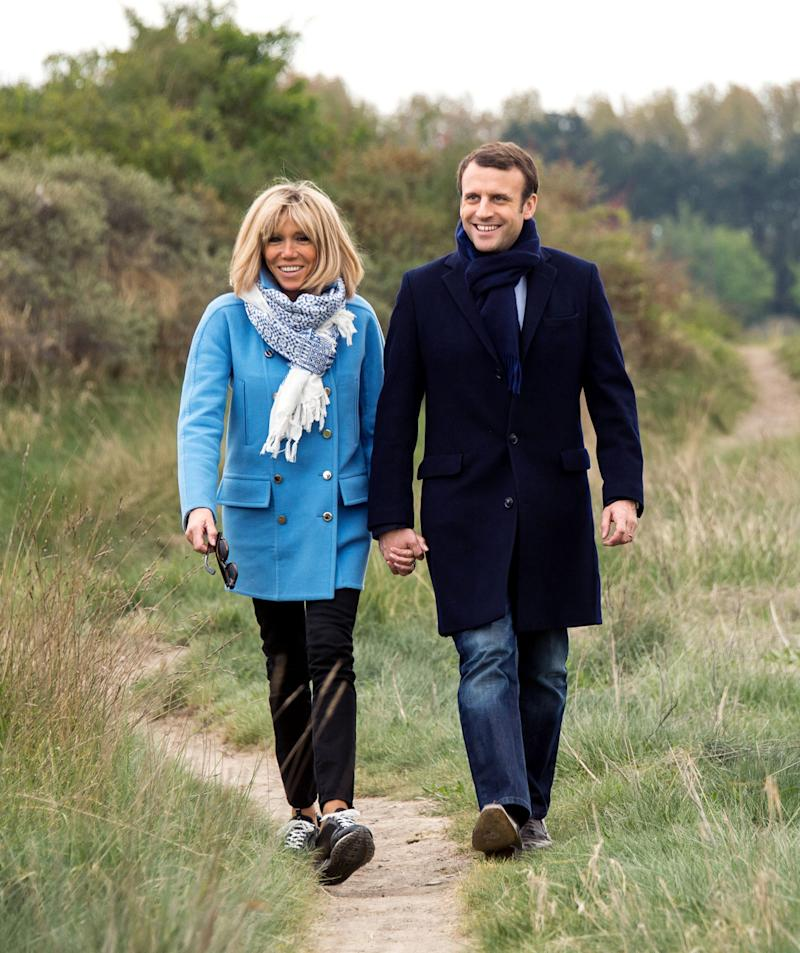 French Women Reportedly Down With Macron's Marriage to a Much Older Woman
