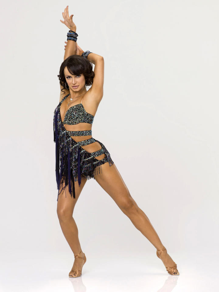 "Professional dancer Karina Smirnoff, who returns for her 11th season, competes on Season 14 of ""<a href=""http://tv.yahoo.com/dancing-with-the-stars/show/38356"">Dancing With the Stars</a>."""