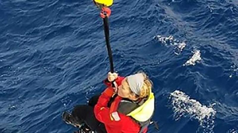 #GoldenGlobeRace: British sailor rescued in Pacific day after yacht dismasted