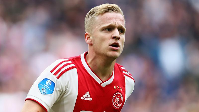 Overmars hoping for 'positive ending' to uncertainty over Real Madrid target Van de Beek