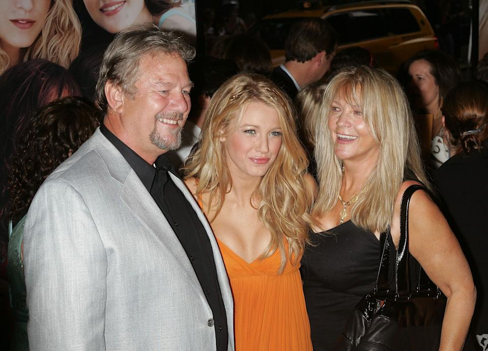 Ernie with Blake and wife Elaine pictured in 2008 (Photo: Jim Spellman via Getty Images)