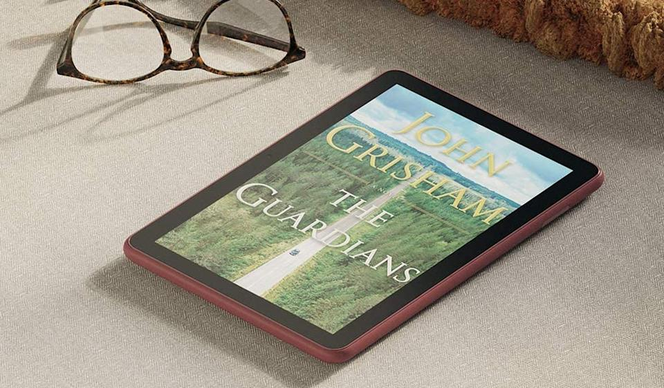 Let's not forget, every Amazon Fire tablet is also a Kindle e-reader, one that affords full access to your e-book library. (Photo: Amazon)