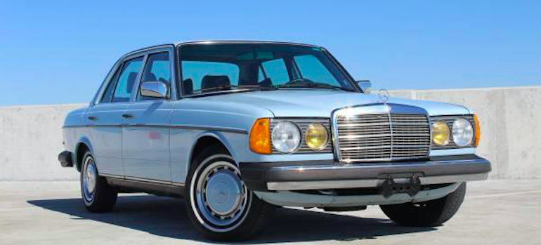 Throwback Tuesday Mercedes W123 240d