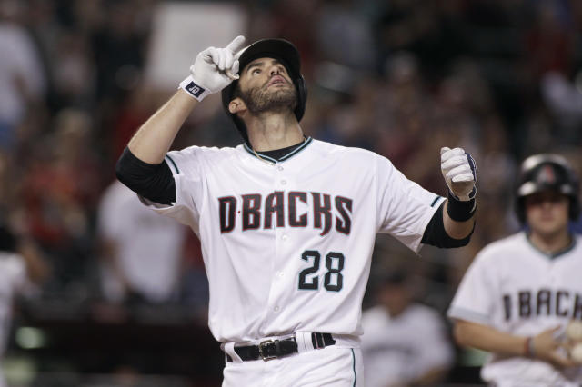 J.D. Martinez is still on the market after a boring 2017 MLB Winter Meetings. (AP)