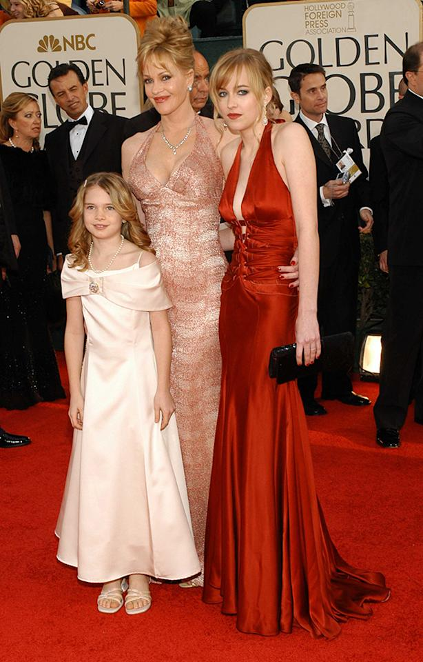 <p>When Dakota Johnson (daughter of Don Johnson and Melanie Griffith) was named honoree in 2006, Griffith became the first former Miss Golden Globe to have her child receive the honor. Could Stella Banderas, Melanie's daughter with Antonio Banderas, pictured here, be next? (Photo: Stefanie Keenan/Getty Images) </p>