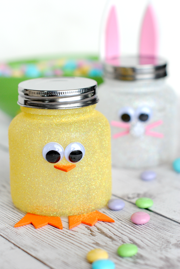 """<p>Candy tastes even better when it's housed in cute duck and bunny jars.</p><p><strong>Get the tutorial at <a href=""""http://crazylittleprojects.com/2015/03/easy-easter-candy-jars.html"""" rel=""""nofollow noopener"""" target=""""_blank"""" data-ylk=""""slk:Crazy Little Projects"""" class=""""link rapid-noclick-resp"""">Crazy Little Projects</a>.</strong></p>"""