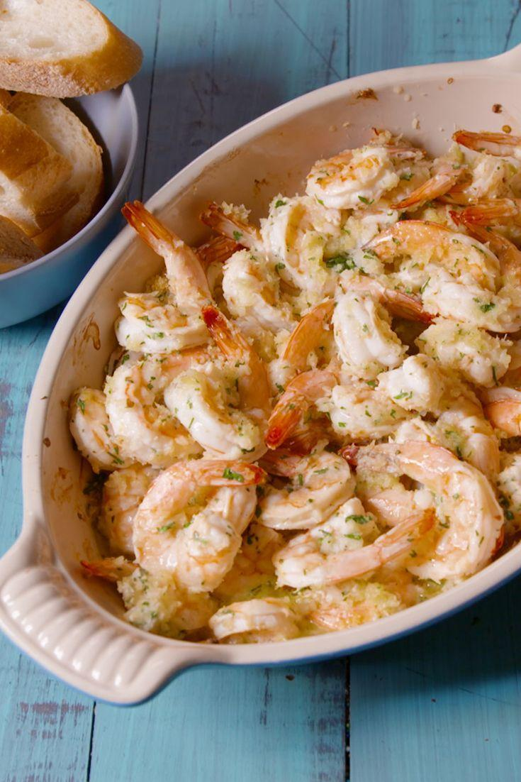 """<p>Your favorite lemony pasta, without any time spent at the stove.</p><p>Get the recipe from <a href=""""https://www.delish.com/cooking/recipe-ideas/recipes/a49534/baked-shrimp-scampi-recipe/"""" rel=""""nofollow noopener"""" target=""""_blank"""" data-ylk=""""slk:Delish"""" class=""""link rapid-noclick-resp"""">Delish</a>.</p>"""