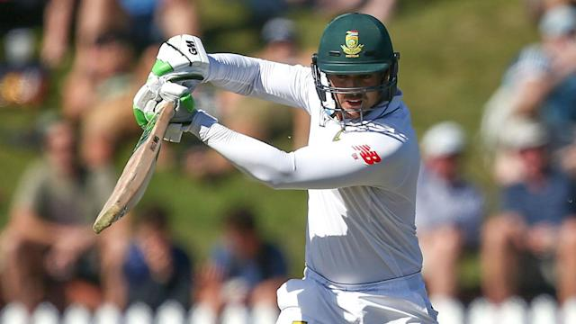 Jeetan Patel has enjoyed plenty of recent success against Quinton De Kock, but the South Africa wicketkeeper had his revenge on Friday.