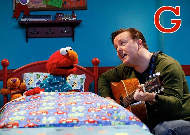 """G is for Guest Stars: It started with <a href=""""/james-jones/contributor/29724"""">James Earl Jones</a>, who paid a visit to <a href=""""/sesame-street/show/33526"""">""""Sesame Street""""</a> during its first season in 1969. Since then, more than 400 celebrities -- ranging from Kofi Annan to <a href=""""/julia-roberts/contributor/32540"""">Julia Roberts</a> to <a href=""""/ricky-gervais/contributor/1217834"""">Ricky Gervais</a> -- have stopped by. <a href=""""http://www.zap2it.com/"""" rel=""""nofollow"""">Source: Zap2it</a>"""