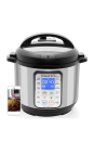 """<p><strong>Instant Pot</strong></p><p>amazon.com</p><p><strong>$89.99</strong></p><p><a href=""""https://www.amazon.com/dp/B0777XQ4S8?tag=syn-yahoo-20&ascsubtag=%5Bartid%7C10058.g.34480122%5Bsrc%7Cyahoo-us"""" rel=""""nofollow noopener"""" target=""""_blank"""" data-ylk=""""slk:SHOP IT"""" class=""""link rapid-noclick-resp"""">SHOP IT</a></p><p>This cooker can make meals for up to six people, which is great if she has a big family. She'll have fun exploring the 13 one-touch smart programs that can make everything from soups to cake. </p>"""