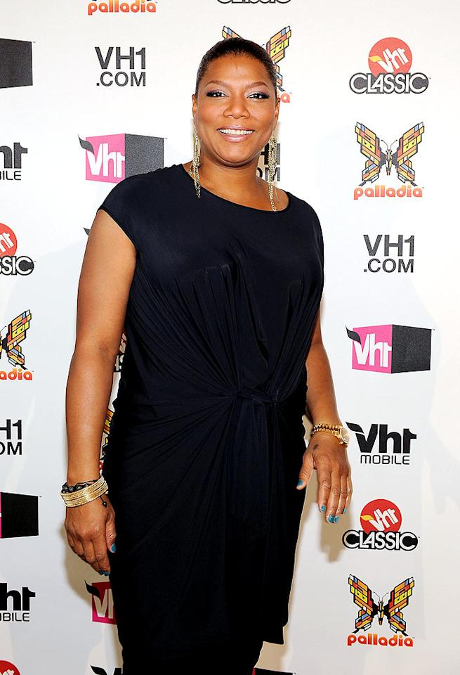 "Queen Latifah was also on hand to announce the network's new programming lineup that includes a female-centric telepic from Latifah's own production company. Larry Busacca/<a href=""http://www.gettyimages.com/"" target=""new"">GettyImages.com</a> - April 20, 2010"