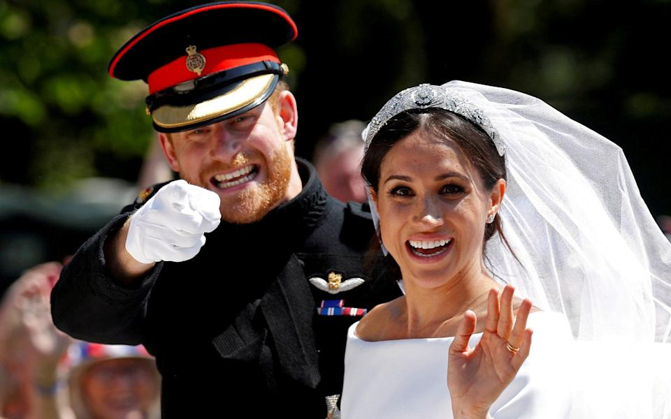 According to one person with first-hand knowledge, the couple 'insisted that they had the same inflation-adjusted budget for the wedding as William and Kate' - Damir Sagolj/Reuters