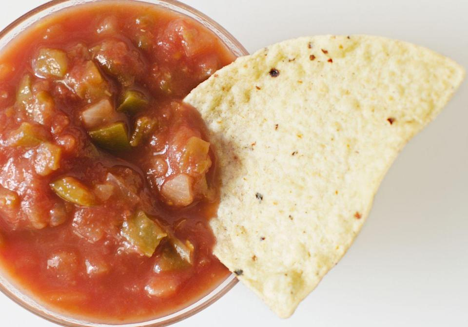 <p>Chips and salsa turn any regular night sitting on the floor of your dorm into a party. It's just science. </p>