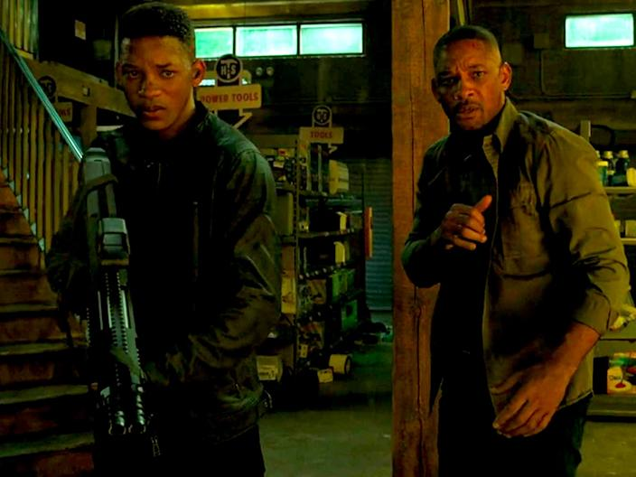 "Will Smith plays two versions of himself in ""Gemini Man."""