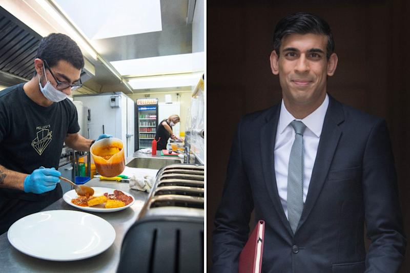 The Chancellor announced a new scheme to support the restaurant industry: PA