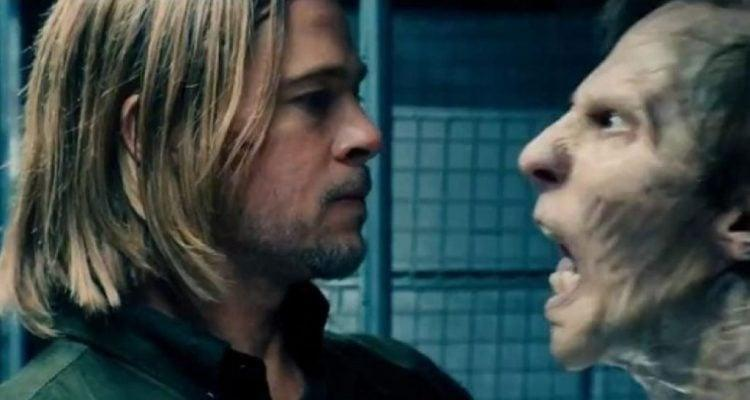 Brad Pitt and friend in <em>World War Z</em>. (Photo: Paramount)