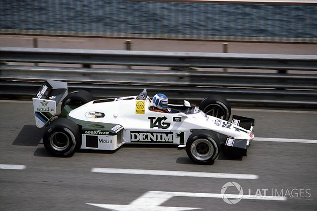 """Keke Rosberg, Williams Ford-Cosworth FW08C, 1983 <span class=""""copyright"""">Sutton Motorsport Images</span>"""