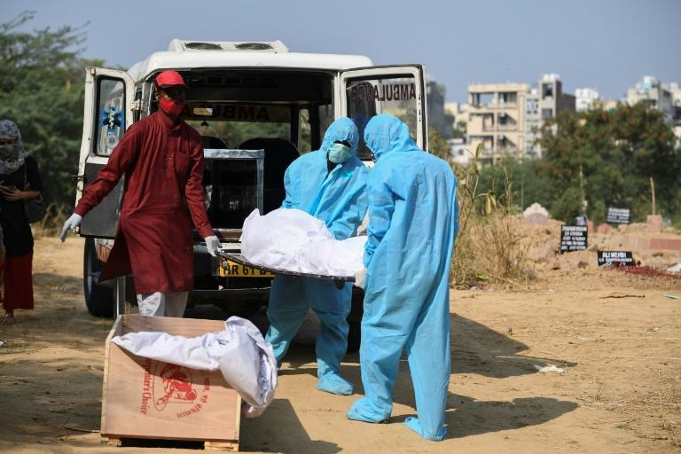 India's coronavirus outbreak is the second worst in the world and hospitals and graveyards have begun to overflow