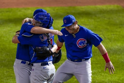 Cubs' Mills throws MLB's 2nd no-hitter in 12-0 win over MIL