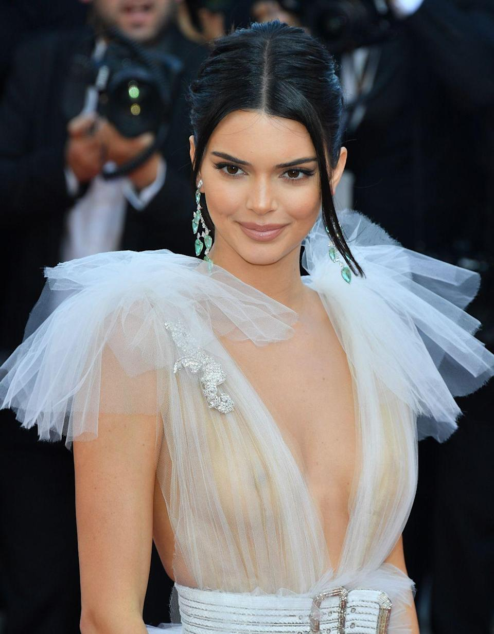 <p>Only supermodel Kendall Jenner can make a nip moment look so gorgeous. </p>