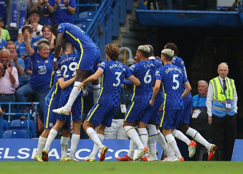 Chelsea continued an unbeaten start to the season with a 3-0 win over Aston Villa  (Getty Images)